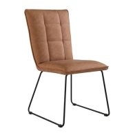 See more information about the Urban Classic Panel Back Dining Chair Tan