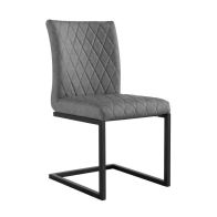 See more information about the Urban Bauhaus Diamond Stitch Dining Chair Grey