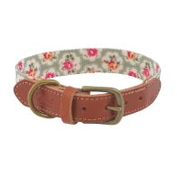 See more information about the Cath Kidston Provence Rose Real Leather Collar with Printed Inner S