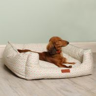 See more information about the Cath Kidston Provence Rose Sofa Bed with Reversible Inner S/M