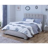 See more information about the Lansfield Canterbury Classic Pine Silver 3ft Single Bed Frame