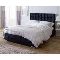 See more information about the Lansfield Gatsby Classic Pine Black 3ft Single Bed Frame