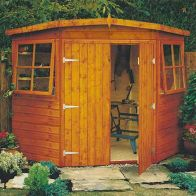 See more information about the Shire Corner Shiplap Garden Shed 10' x 10'