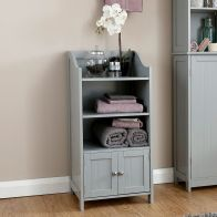 See more information about the Colonial Cabinet Grey 2 Door
