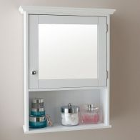 See more information about the Colonial Cabinet White 1 Door 3 Shelf