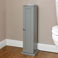 See more information about the Colonial MDF Slim Grey Toilet Roll Cupboard