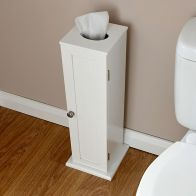 See more information about the Colonial MDF Slim White Toilet Roll Cupboard