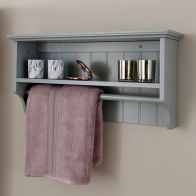 See more information about the Colonial Towel Rail Shelf - Grey