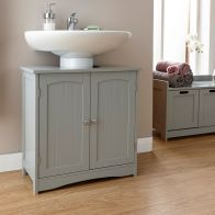 See more information about the Colonial Grey 2 Door Underbasin Cabinet