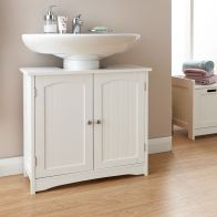 See more information about the Colonial MDF White 2 Door Underbasin Cabinet