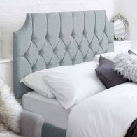 See more information about the Castleton Blue 3ft Single Bed Headboard