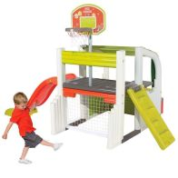 See more information about the Smoby Children Sports Multi-Activity Fun Centre Play Set Slide