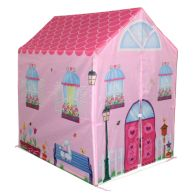 See more information about the Pink Playhouse Wendy House Indoor Outdoor Play Tent