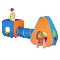 See more information about the 3 in 1 Adventure Indoor Outdoor Pop Up Play Tent Set