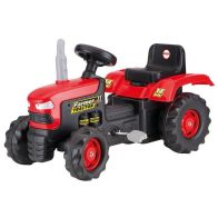 See more information about the Dolu Ride On Red Tractor Pedal Operated Toy Age 3+ Years