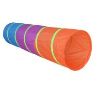 See more information about the Bright Pop Up Play Tunnel Indoor Outdoor Polyester