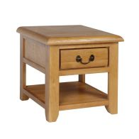 See more information about the Oakham 1 Drawer Lamp Table