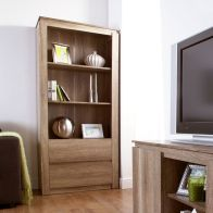 See more information about the Canyon Bookcase 3 Shelf Oak Style