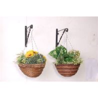 See more information about the African 12inch Hanging Garden Planter Basket Twig