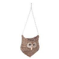 See more information about the Wise Owl Hanging Planter 28x22x18cm
