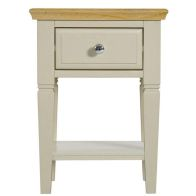 See more information about the Country Cottage Oak 1 Drawer Side Table