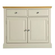 See more information about the Country Cottage Sideboard Cream & Oak 2 Door 2 Drawer