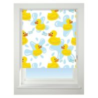 See more information about the Universal 60cm Yellow & Blue Floral Quack Quack Daylight Roller Blind