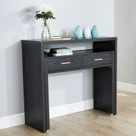 See more information about the Regis Black Extending Console Desk