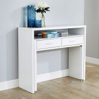See more information about the Regis White Extending Console Desk