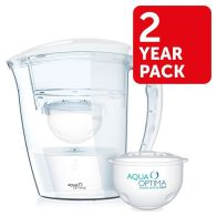 See more information about the Aqua Optima Galia White Water Filter Jug 2 Year Pack
