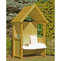 See more information about the Shire Forget Me Not Garden Arbour 4' x 2'