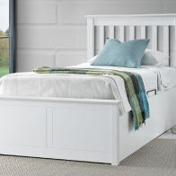 See more information about the Francis Single Ottoman Bed White