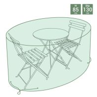 See more information about the Small Round Tarpaulin Garden Bistro Furniture Set Cover