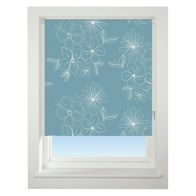 See more information about the Universal 60cm Blue Floral Cluster Blackout Roller Blind