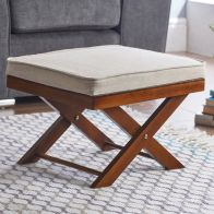 See more information about the Foot Rest Stool With Crossed Legs