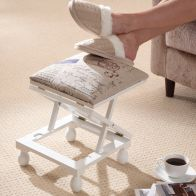 See more information about the Adjustable Height Foot Rest Stool White