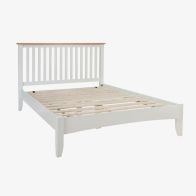 See more information about the Ava Oak King Size Bed White