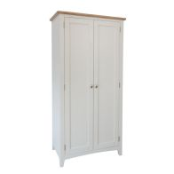 See more information about the Ava Oak 2 Door Full Double Wardrobe White