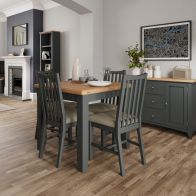 See more information about the Aurora Light Oak & Grey Flip Top Dining Table