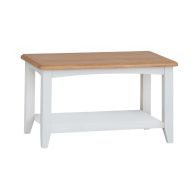 See more information about the Ava Oak Coffee Table White