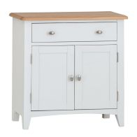 See more information about the Ava Oak 2 Door 1 Drawer Sideboard White