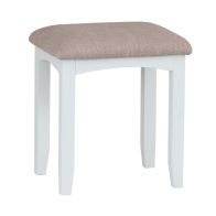 See more information about the Ava Oak Rectangular Stool White