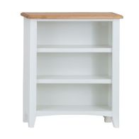 See more information about the Ava Oak 3 Shelf Bookcase White