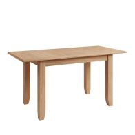 See more information about the Oxford Oak Rectangular Extending 4/6 Seat Extending Dining Table