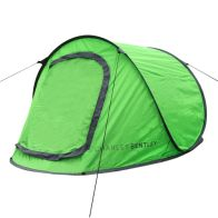 See more information about the 2 Man Instant Pop Up Camping Tent With Waterproof Groundsheet - Green