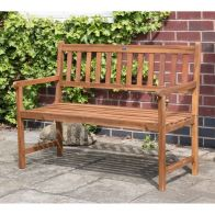 See more information about the Charles Bentley FSC Acacia Hardwood 2-3 Seater Garden Bench