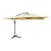 See more information about the Banana Hanging Garden Umbrella Parasol Beige 3M
