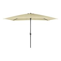 See more information about the Rectangular Garden Umbrella Parasol Beige 3M x 2M