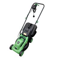 1200W 30L Electric Wheeled Rotary Lawnmower 3 Grass Cut Settings