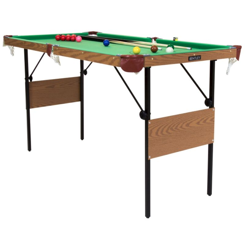 Buy In Foot Inch Green Snooker Pool Games Table Including - 6 1 2 foot pool table